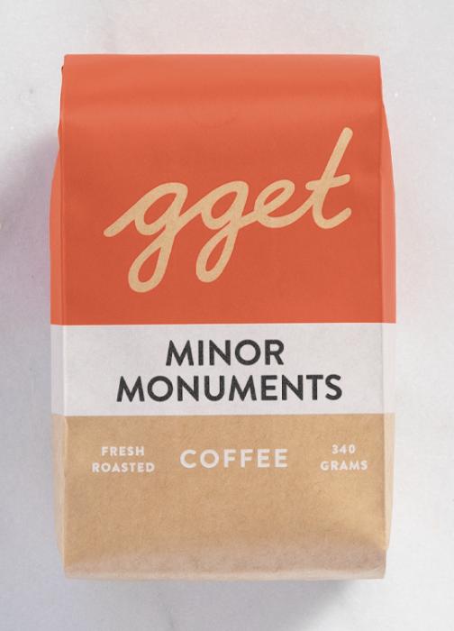 Go Get Em Tiger coffee- Minor Monuments