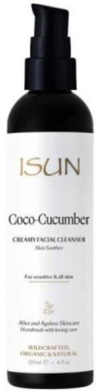 sun coco cucumber creamy facial cleanser