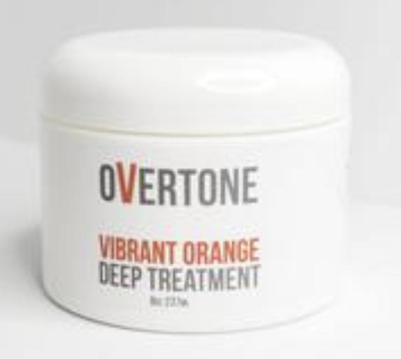 Overtone vibrant orange