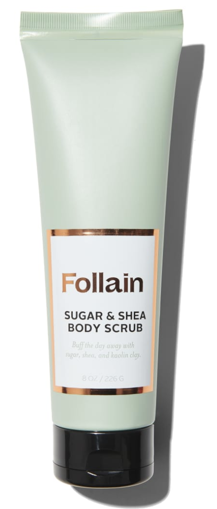 Follain body scrub