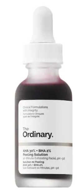 The ordinary AHA 30% peeling solution