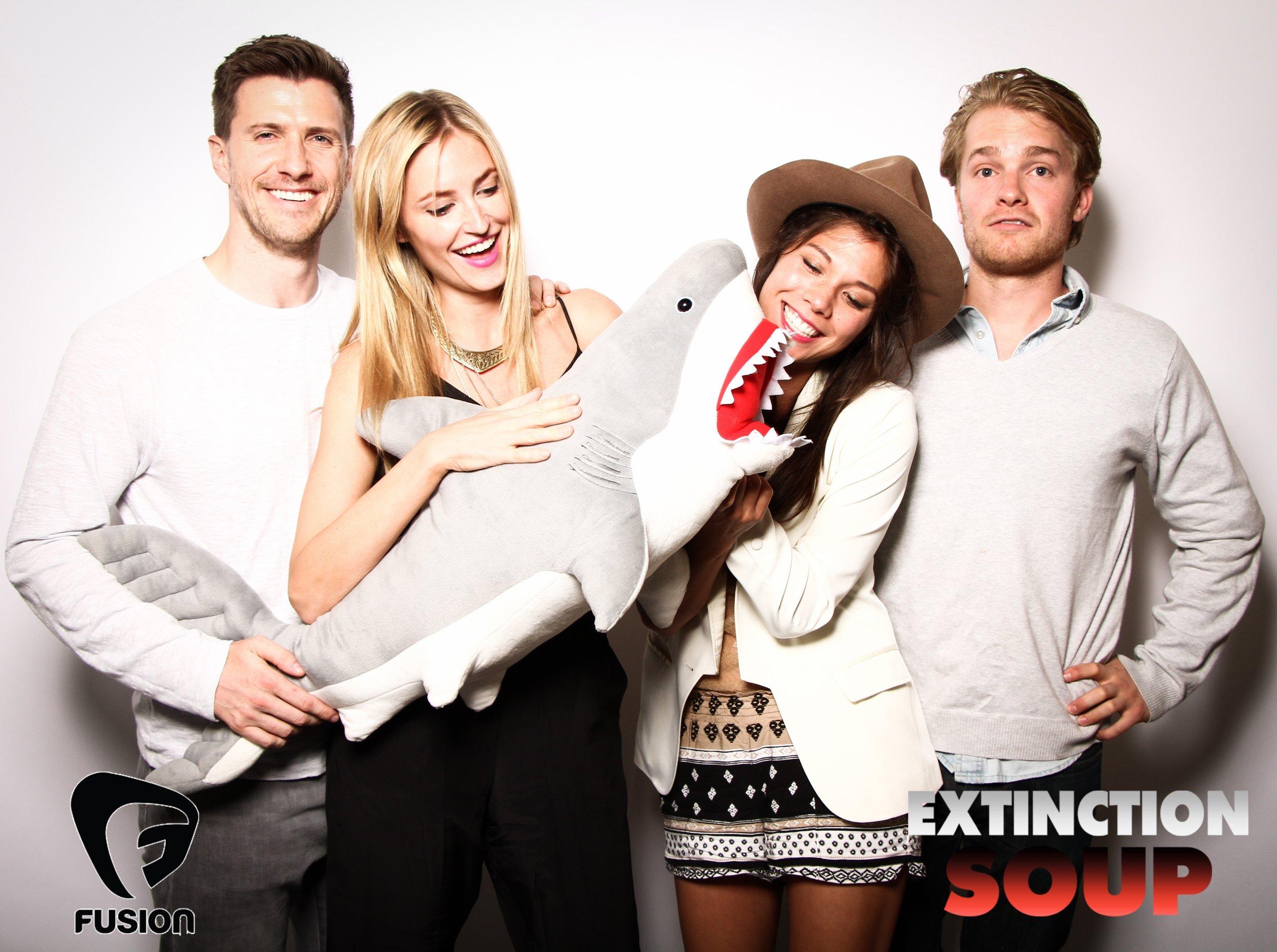 Photo booth fun with shark 2