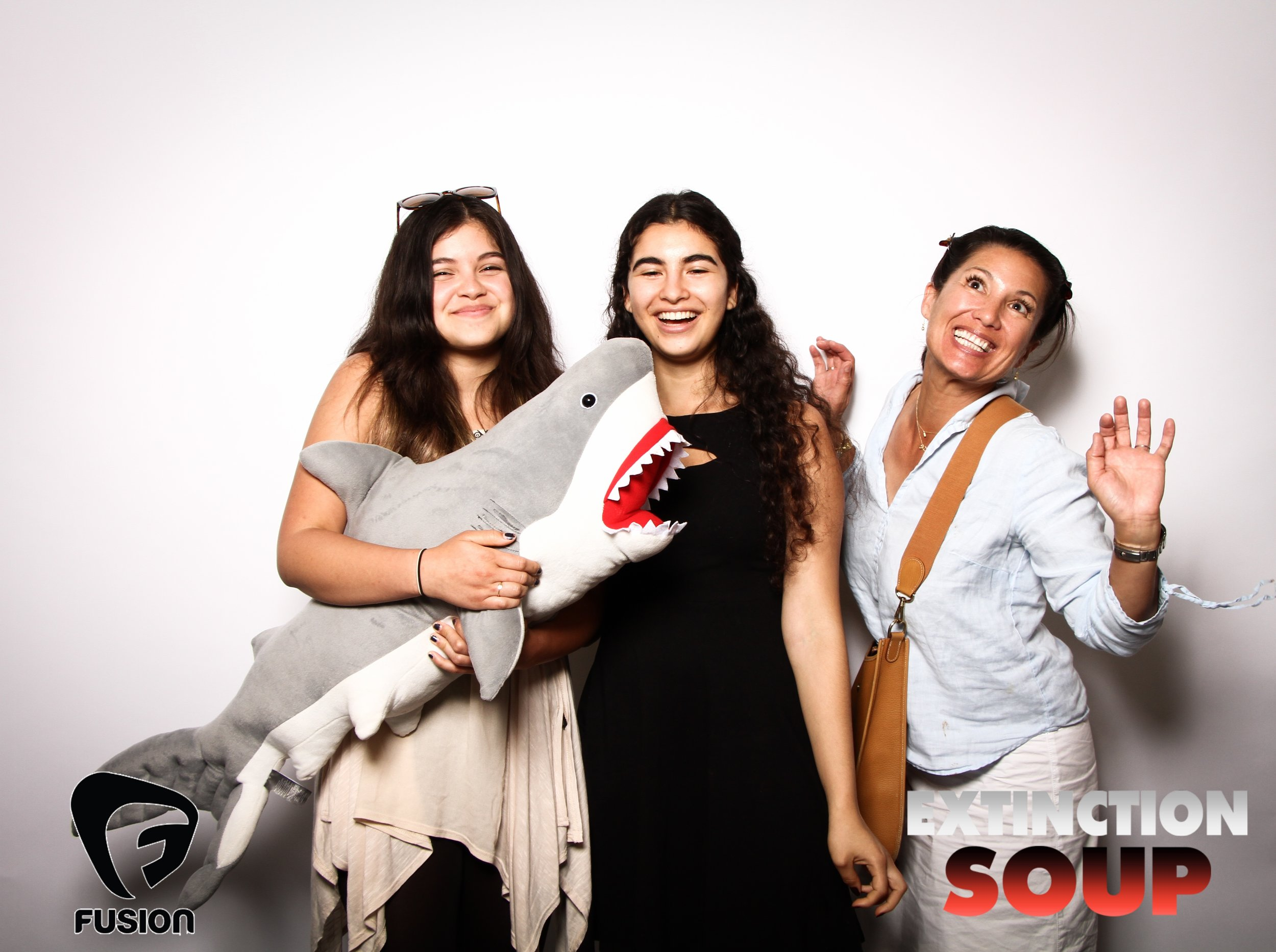 Photo booth fun with shark 4