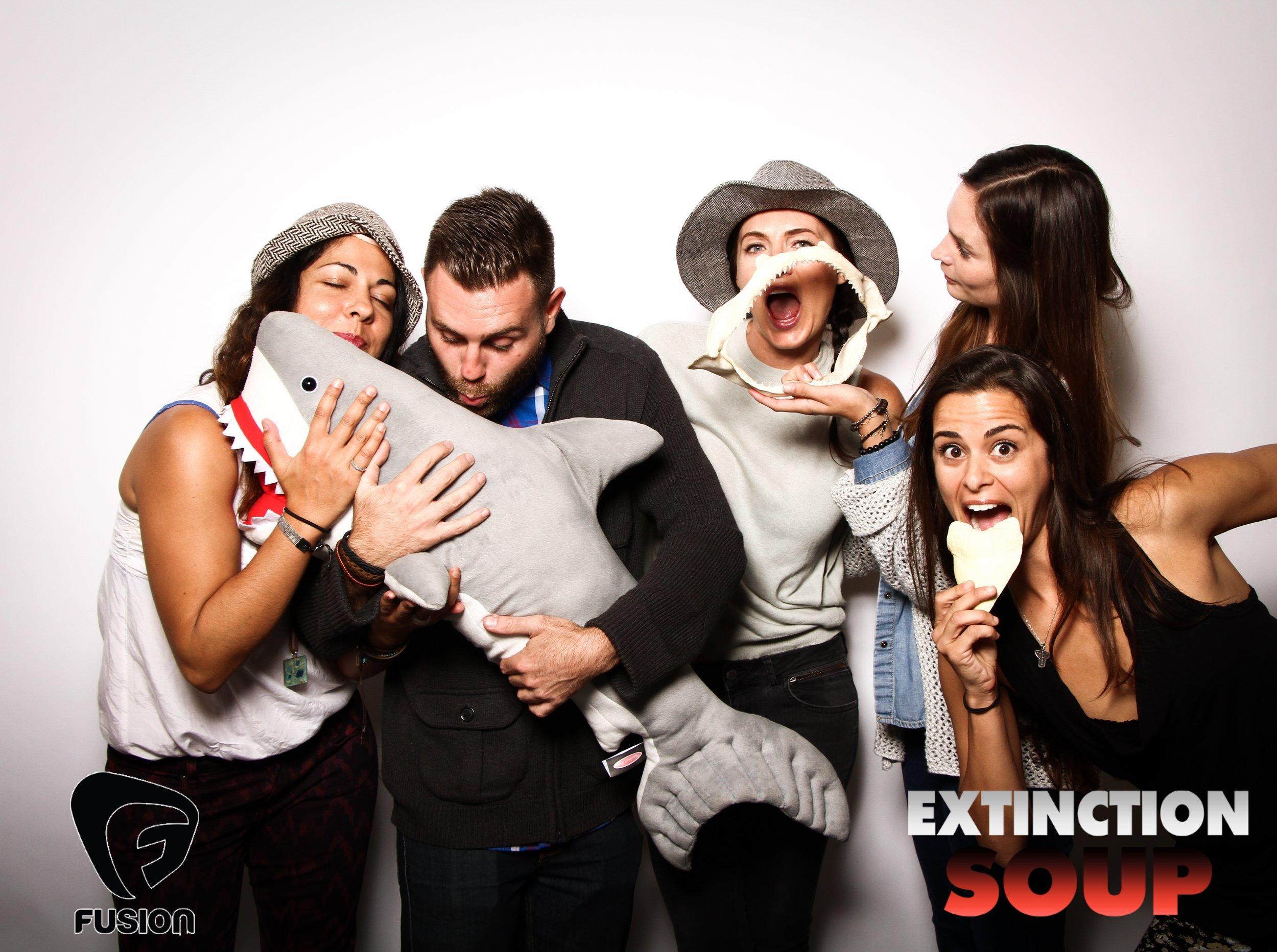 Photo booth fun with shark 5