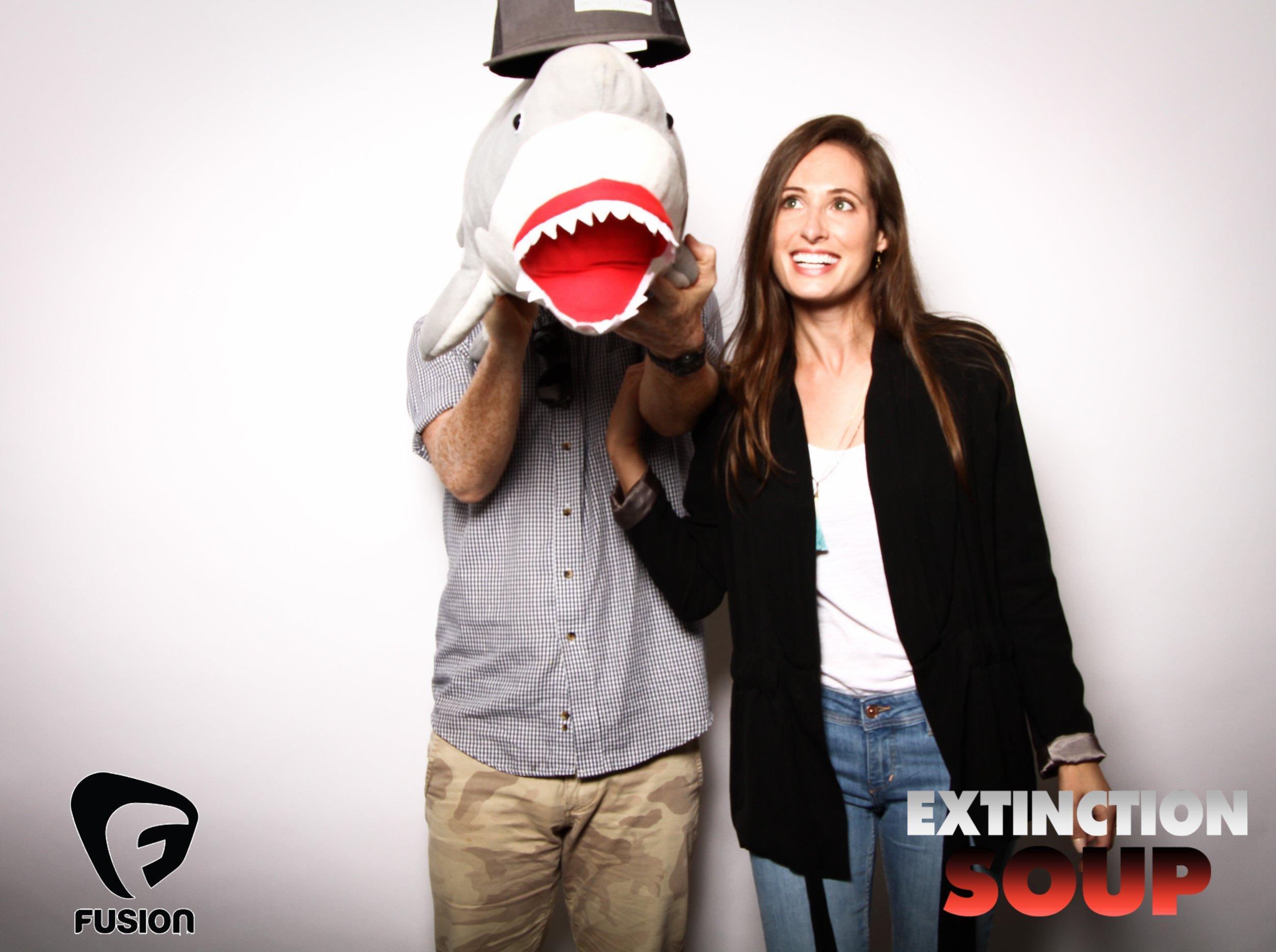Photo booth fun with shark 7