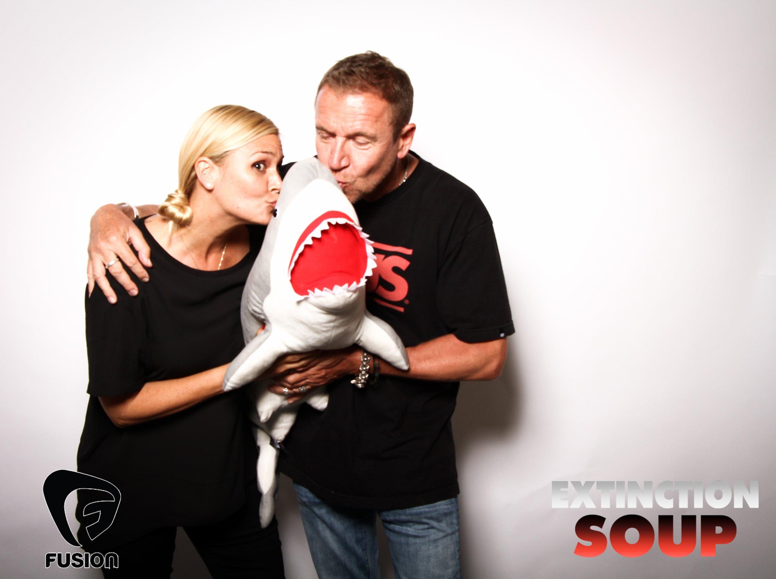 Photo booth fun with shark 9