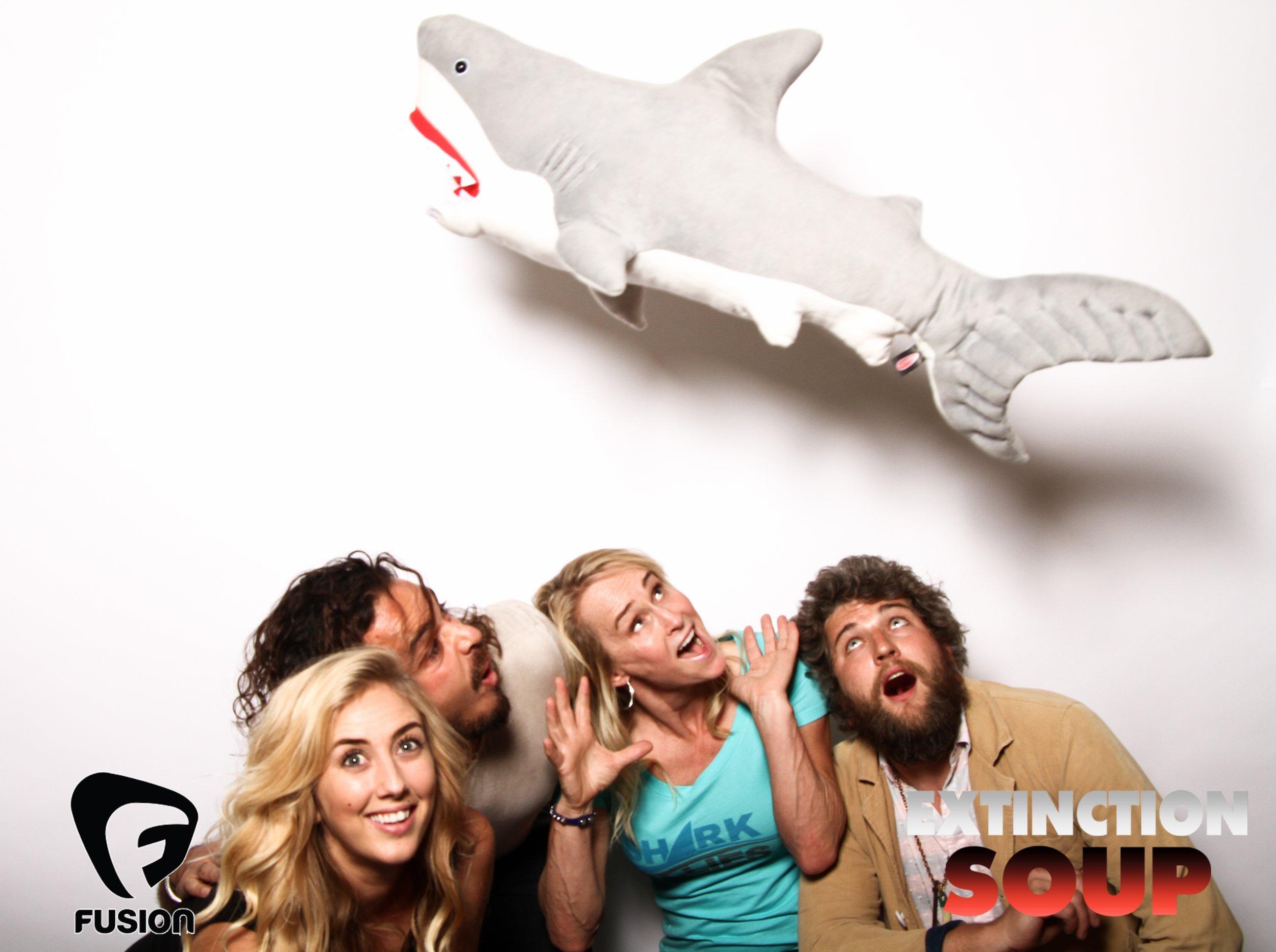 Photo booth fun with shark 1