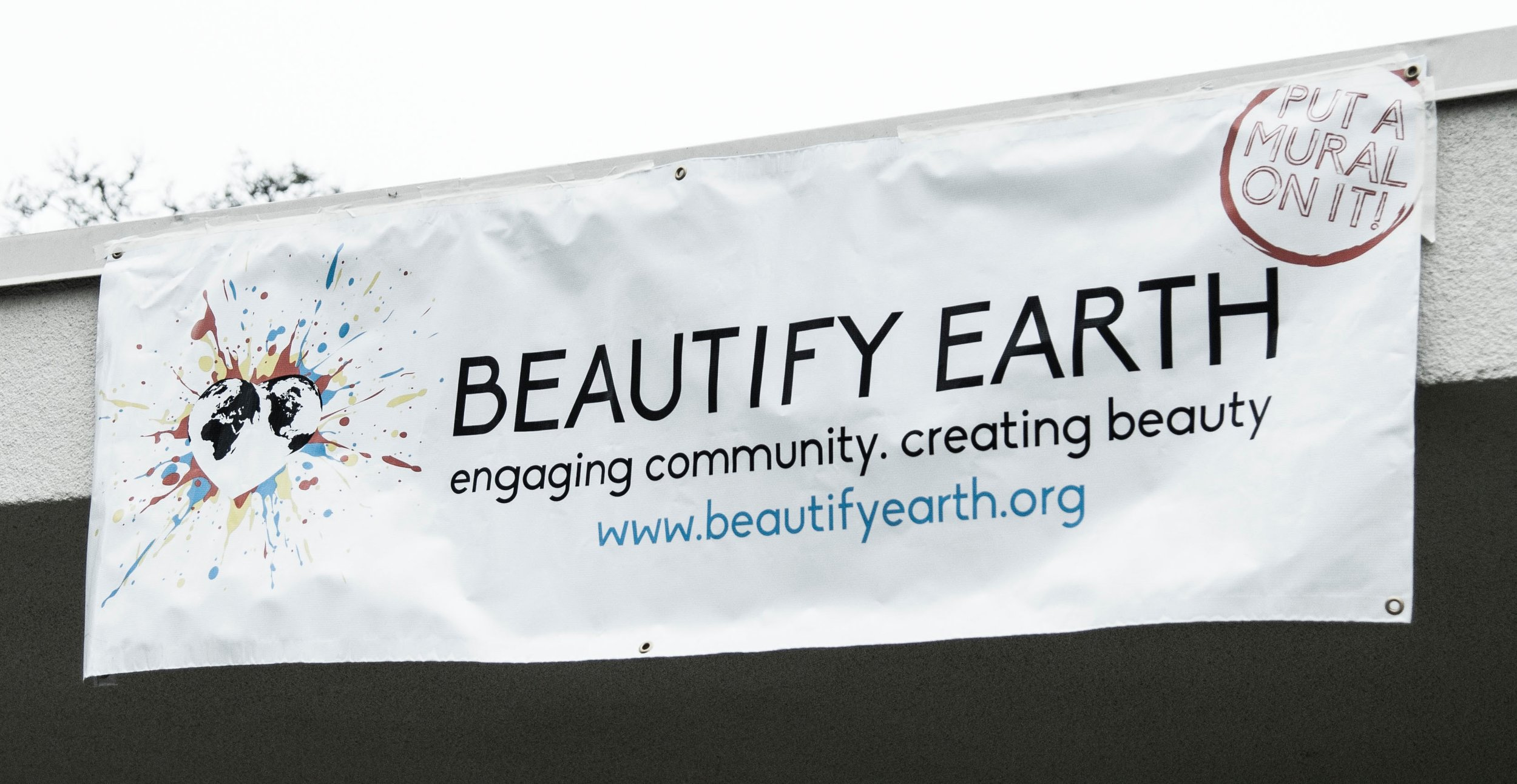 Beautify Earth banner