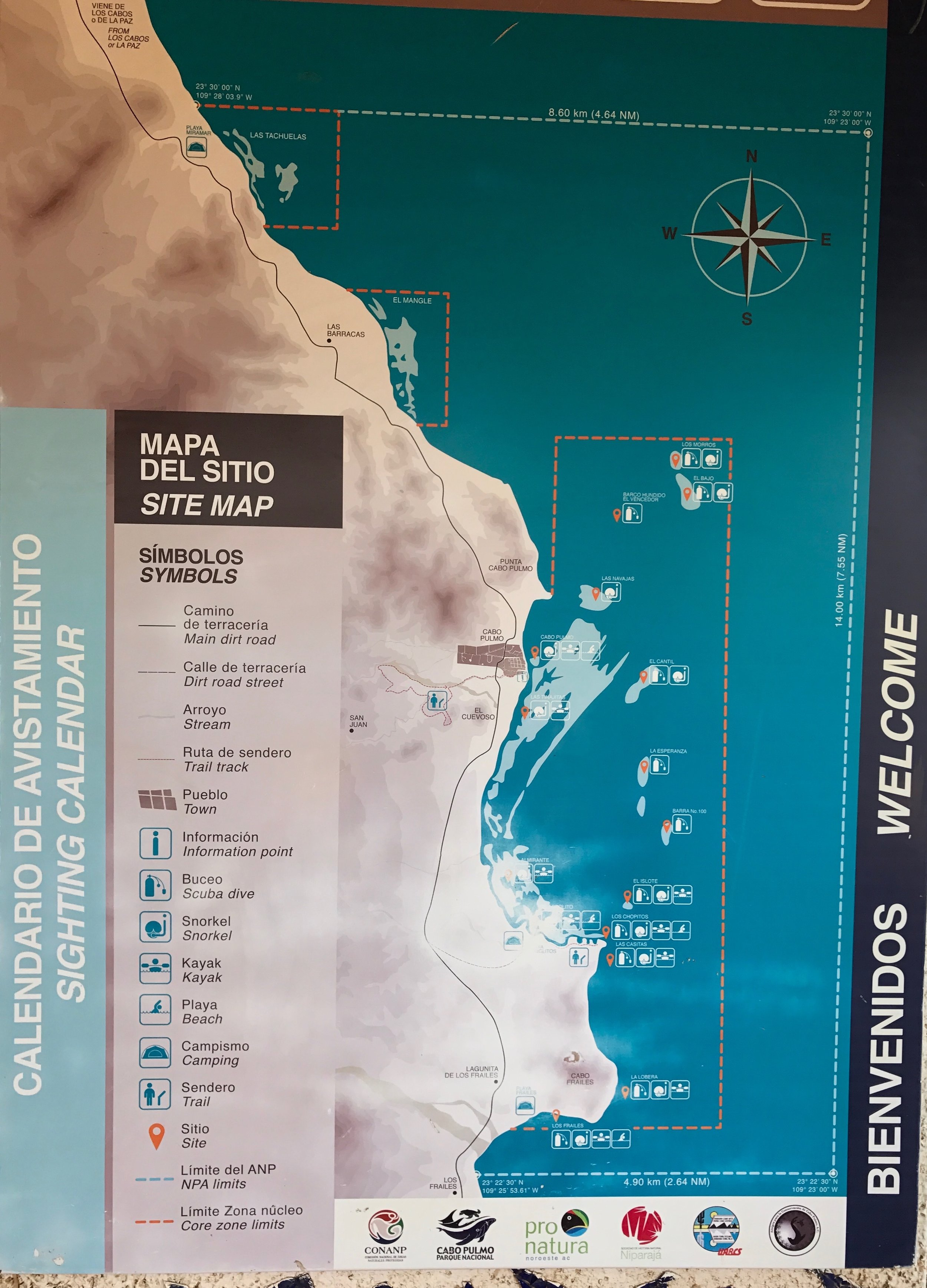 Cabo Pulmo Dive sites
