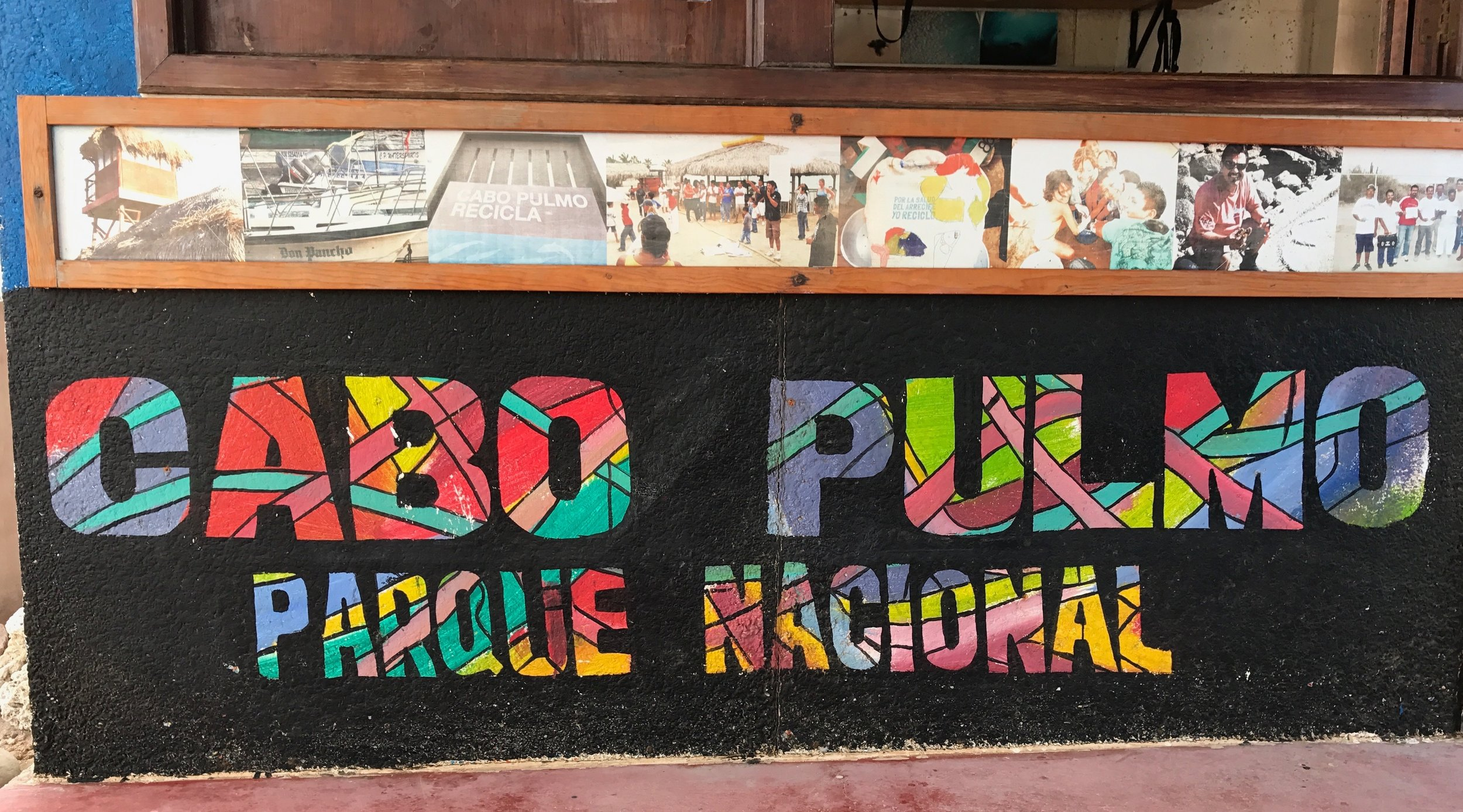 Cabo Pulmo Park sign