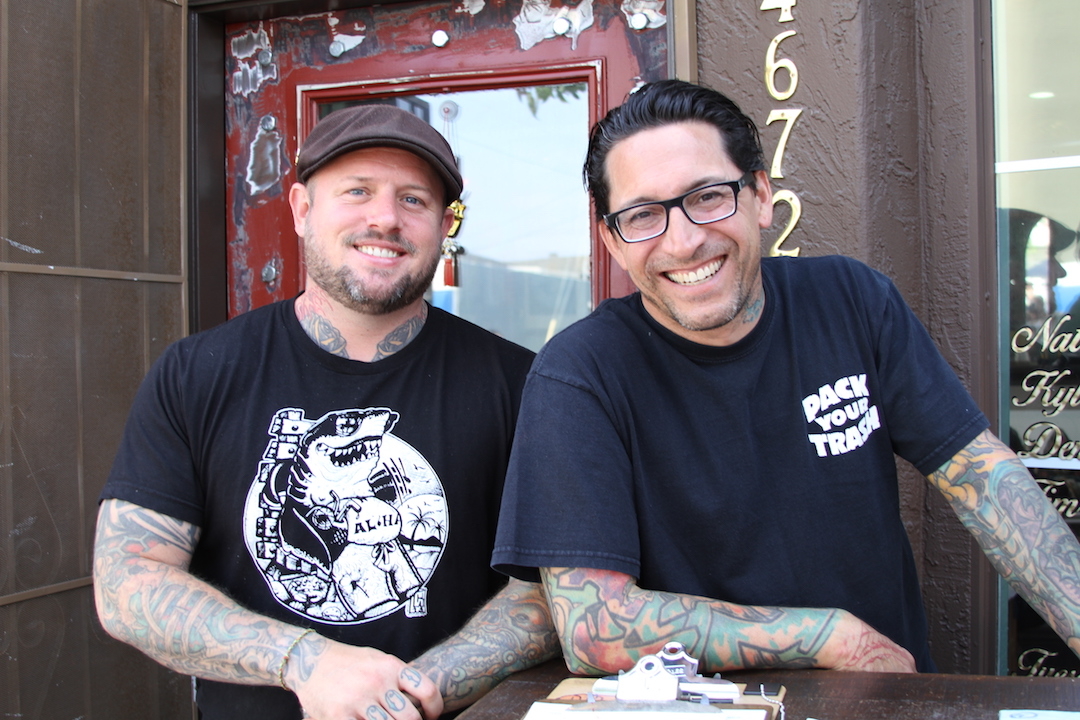 Even Keel Tattoo Nate and Kyle