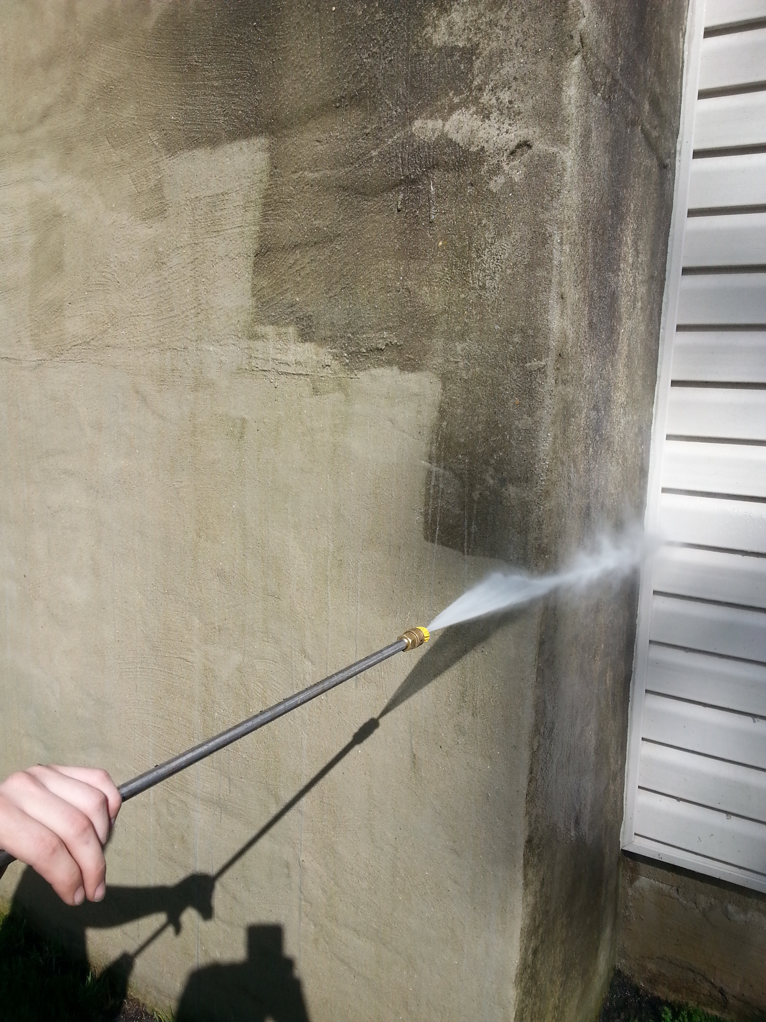 Call us to pressure wash your home!