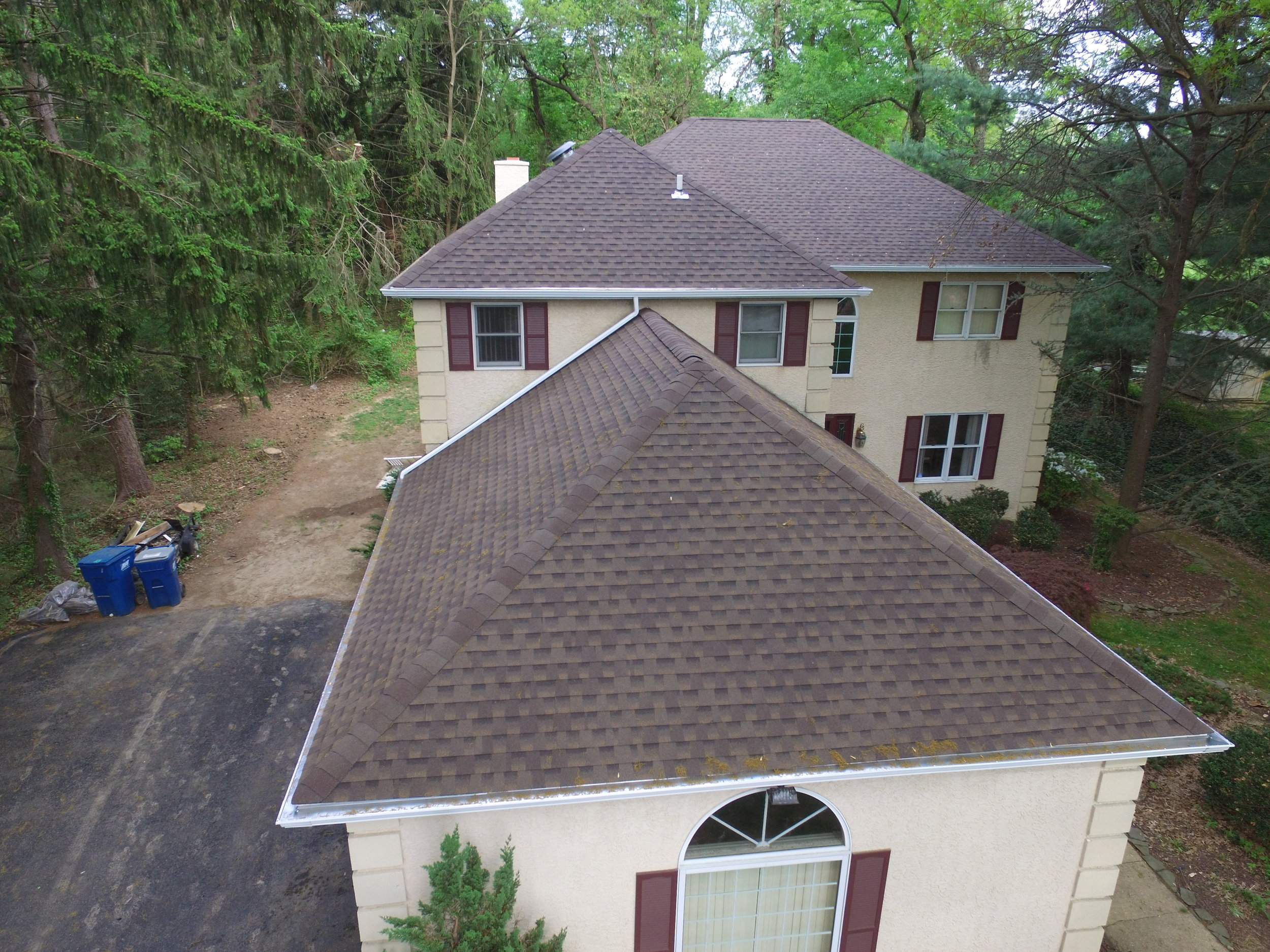 Roof replacement: After