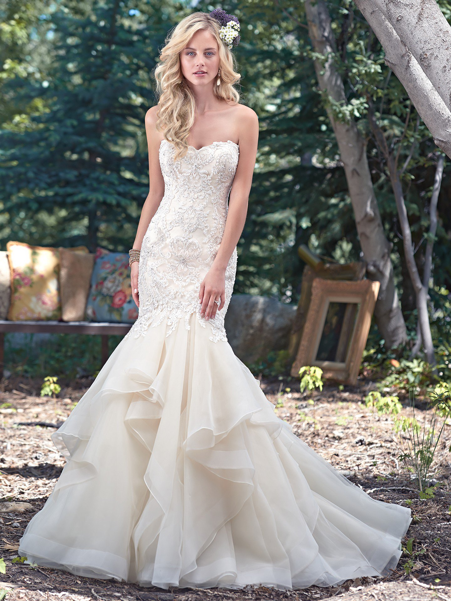 Maggie Sottero Malina - Clearance Price : 1695$