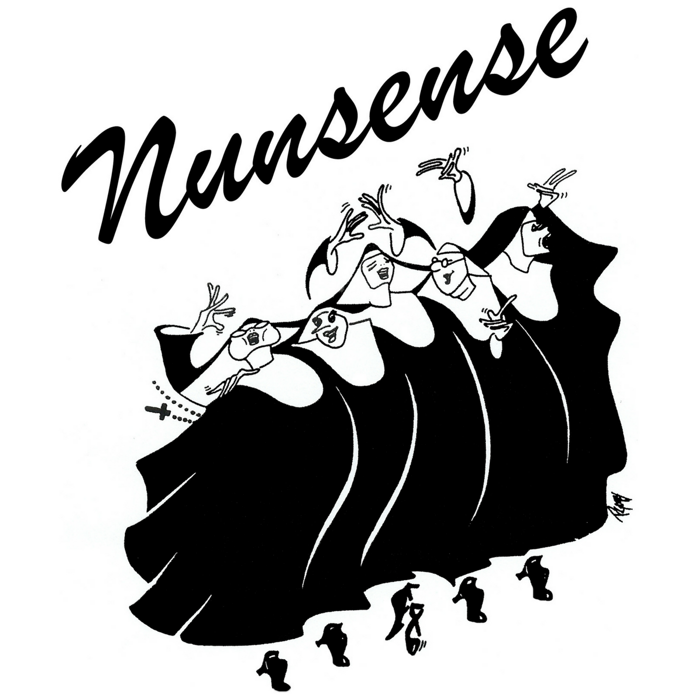 Nunsense - by Dan GogginDirected by David MetcalfFebruary 27, 28 and 29 and March 1, 5, 6, 7, and 8.Don't miss this perennially popular musical comedy! The nuns are nervous about their upcoming talent show. The five sister survivors hail from the Little Sisters of Hoboken nunnery. They're the last ones standing, too, because the rest of the sisterhood has succumbed to botulism after eating vichyssoise prepared by Sister Julia, Child of God. Will the singing sisters survive rehearsals and save the day?