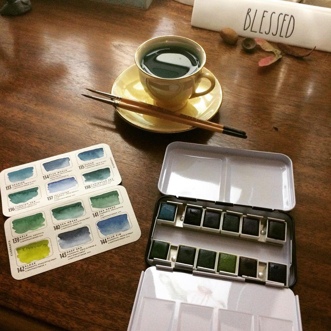 Prima Watercolor Palette, Currants