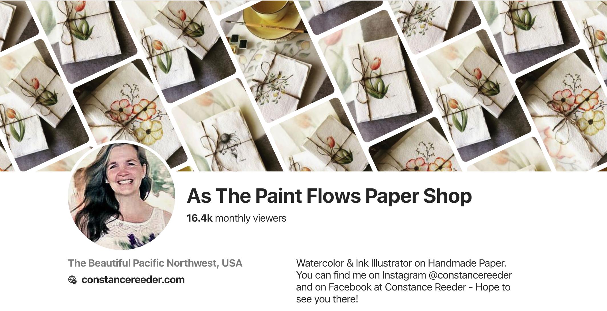 Pinterest, Constance Reeder, Artist, botanical, watercolor, ink