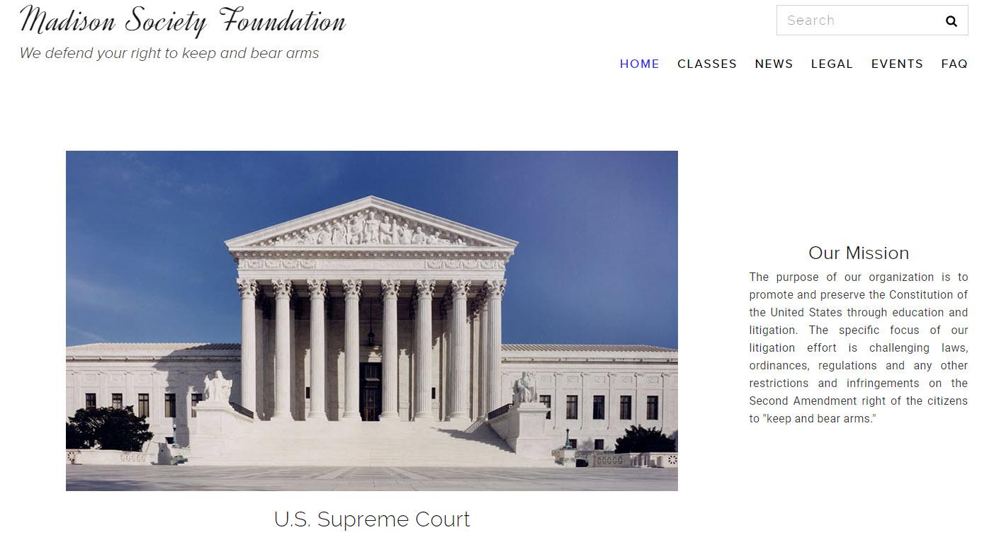 Madison Society - Protecting the 2nd Amendment