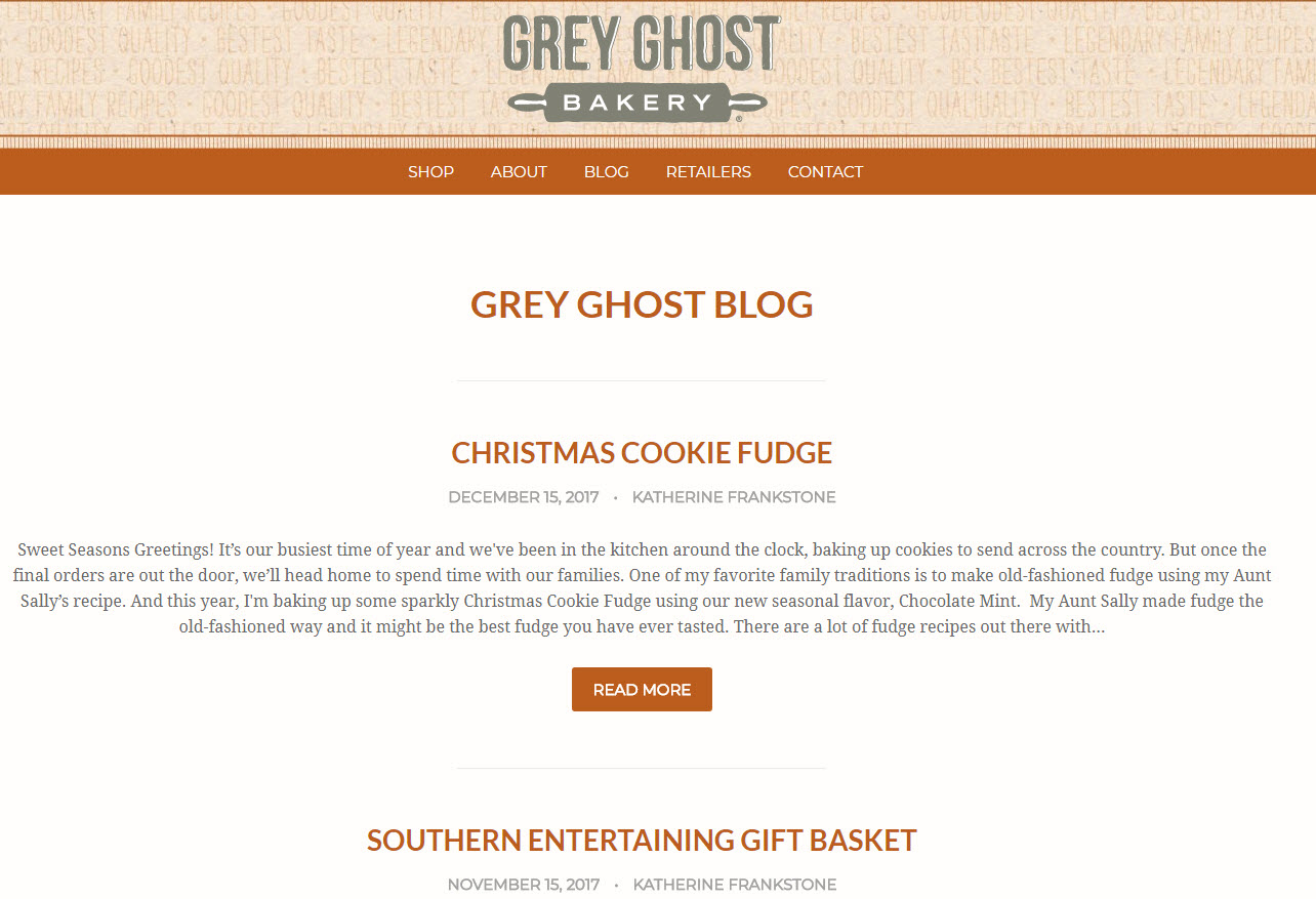 Copy of Blogging