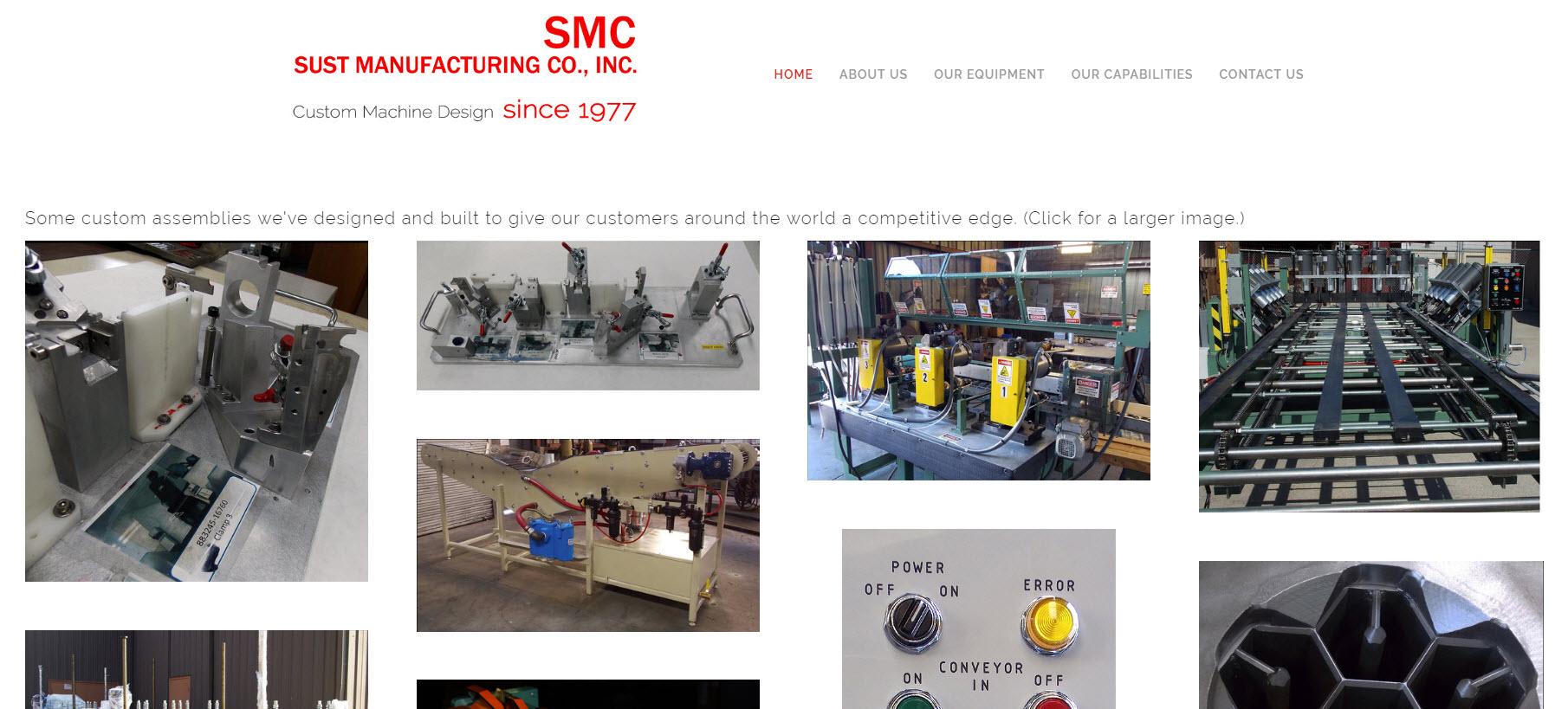 Sust Manufacturing - Stockton, CA Machine Shop