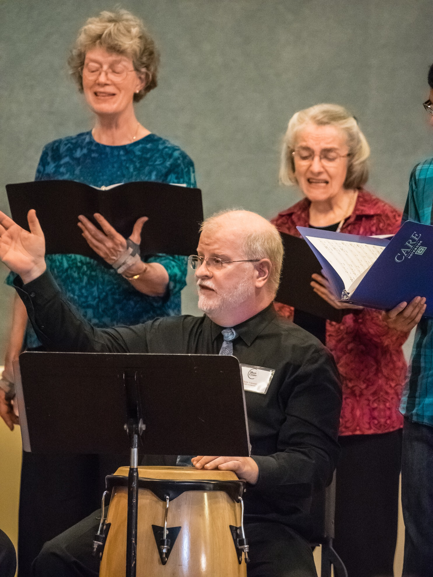 chris vincent,  music center chorale