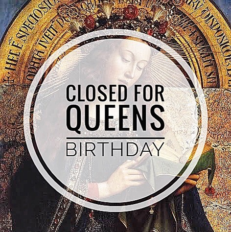 We're closed on Monday for the Queens Birthday 👑♥️ (07/10) Remember to make your appointments for the last few days of the school holidays 💫💫