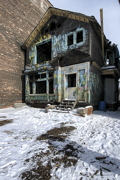 Half-Burnt House.