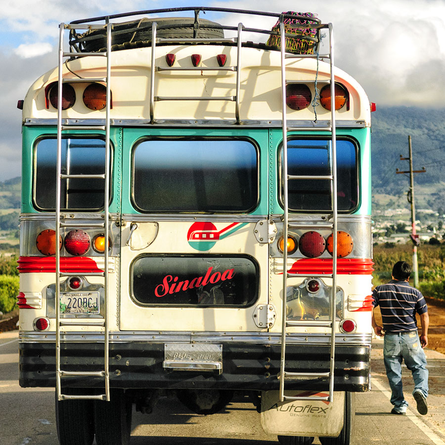 On the Road, Guatemala, 2011