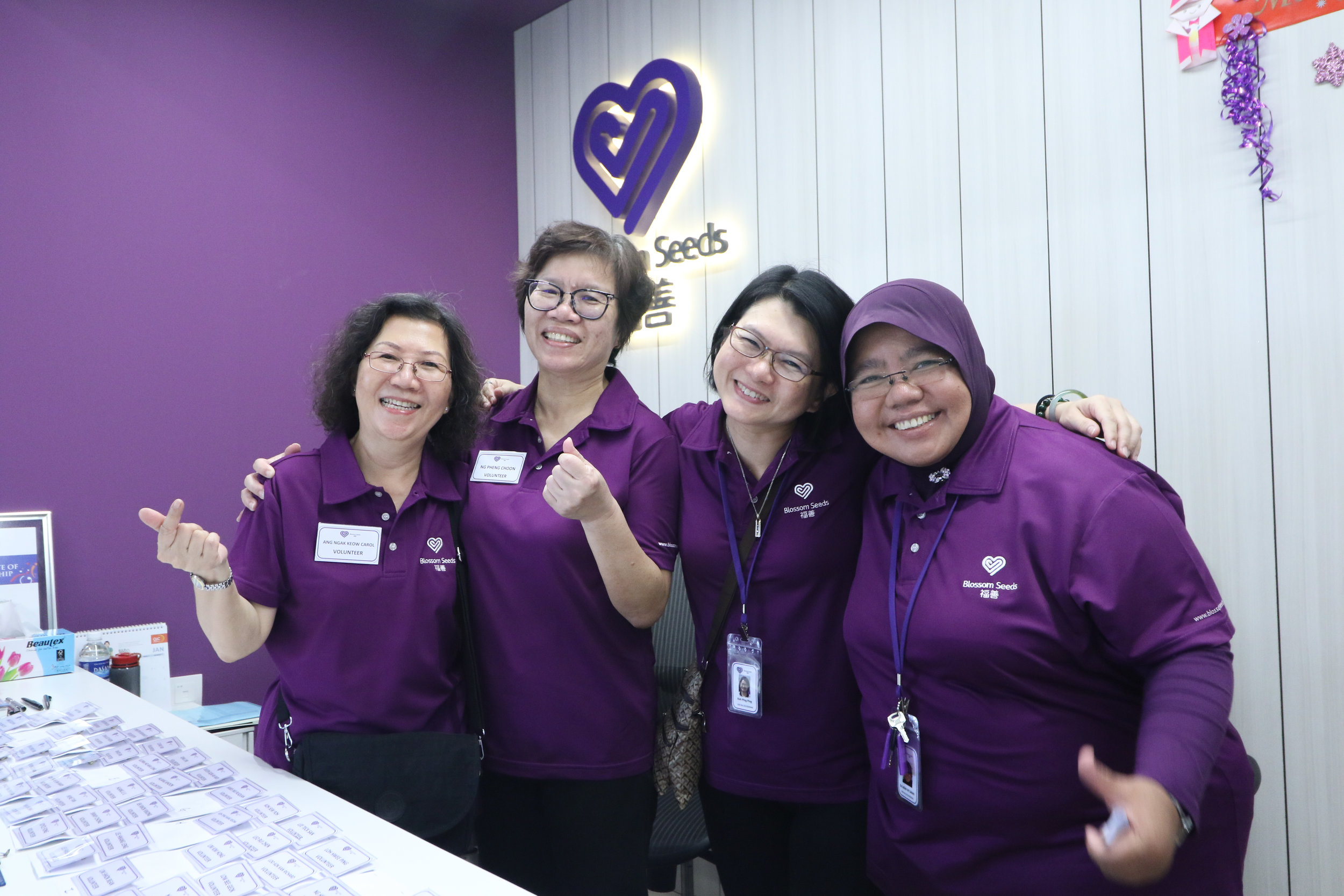 Blossom Seeds Care Centre - Open House and Purple Party Volunteer Appreciation