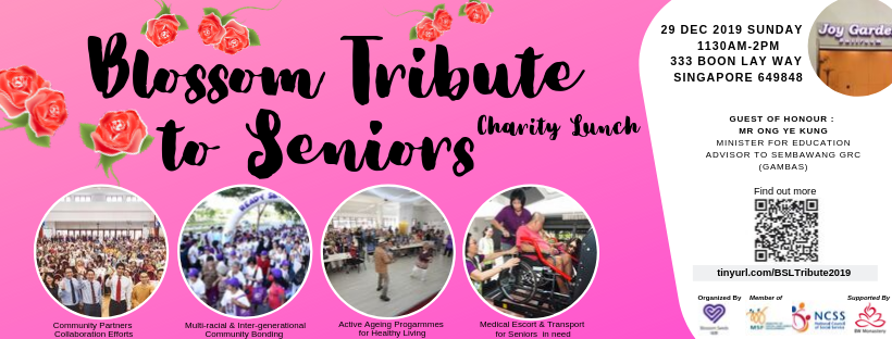 Blossom Seeds Charity Tribute Lunch