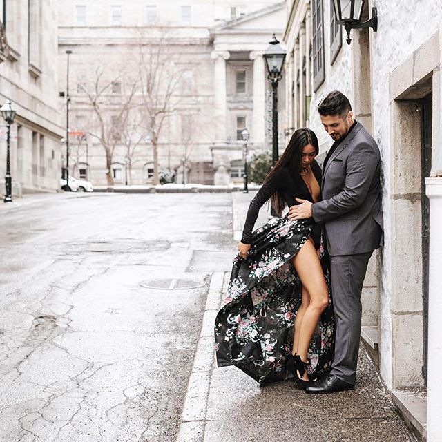 To the world you may are one person, but to one person, you are the world. Congrats to this beautiful couple! Looking forward to documenting your wedding tomorrow! 💛 . . . #bridetobe #instawedding #montreal #oldmontreal #lifeadventure #wanderlust #montrealwedding #weddingphotography #weddingphotographer  #montrealphotographer