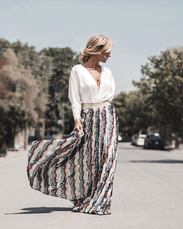 Steal the spotlight with this amazing skirt!! ✨ #summertime #shine