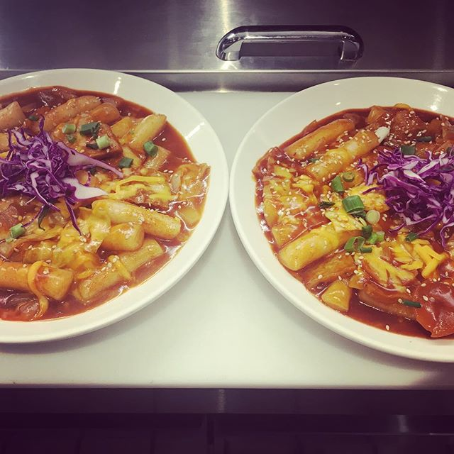 korean spicy rice cakes with cheese #ddukbokki #spicyricecakes #떡볶이 #foodbeast #phillyfoodie #koreanfoodlover #instafood #foodstagram #swagfoodphilly #giwakitchen