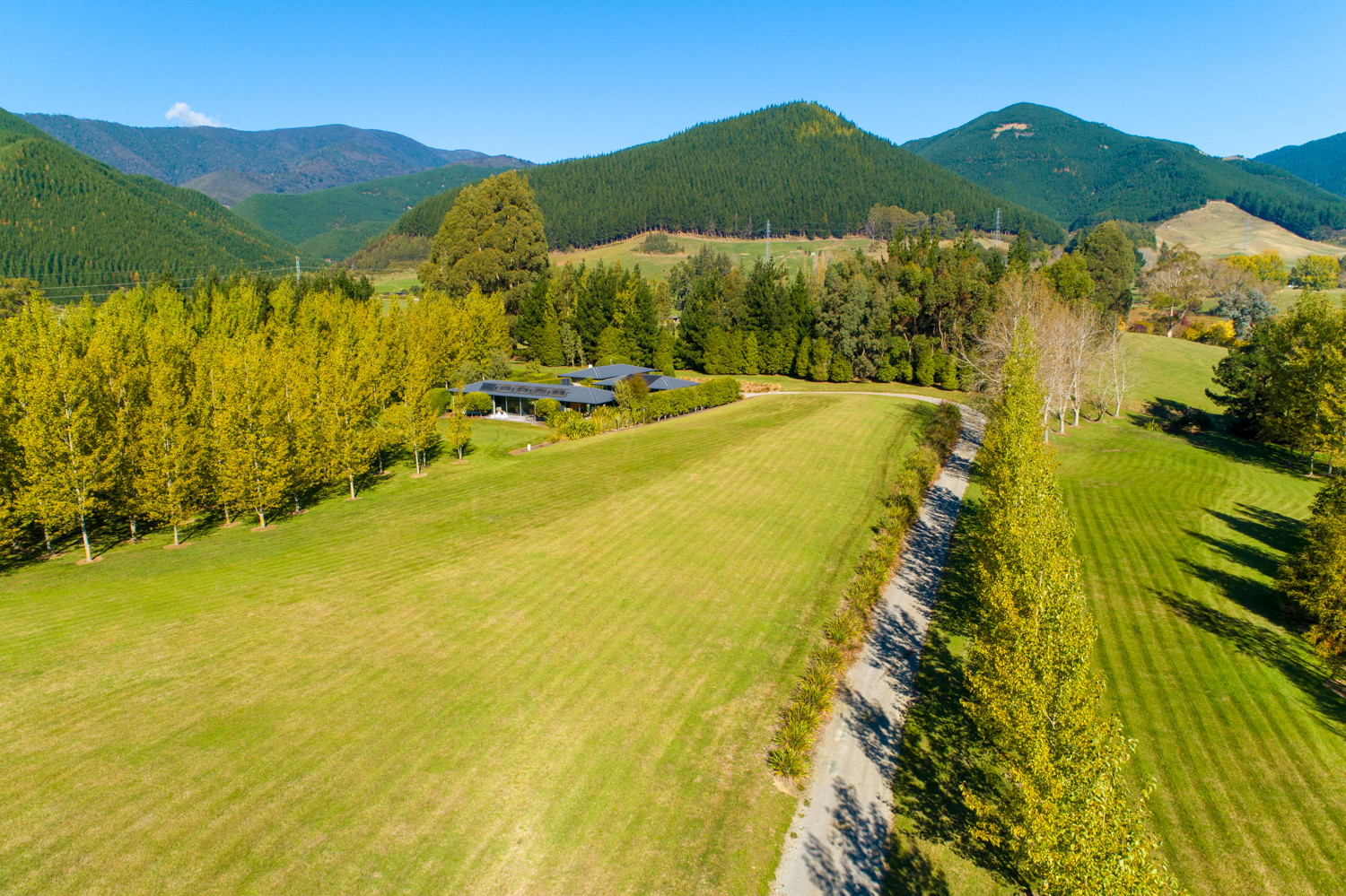 Eighty Eight Valley property drone view