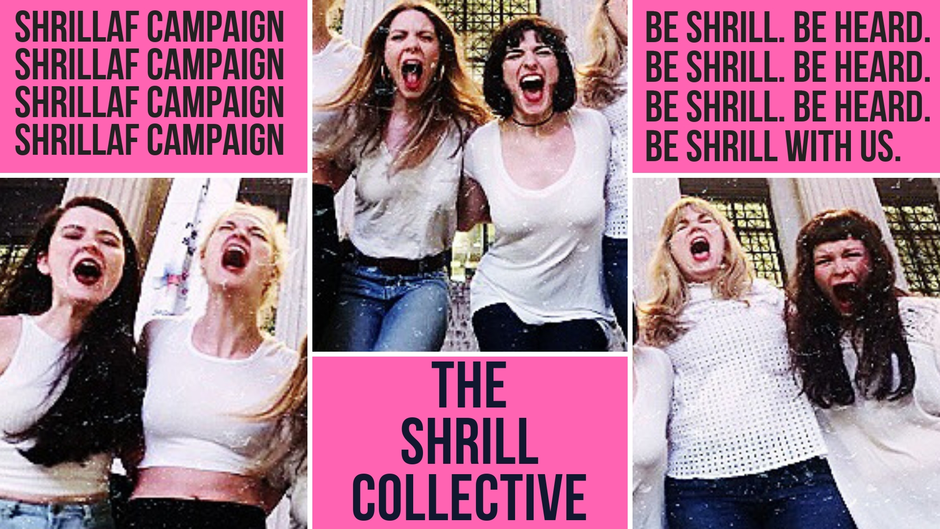 Let's get shrill. - We have launched an Indiegogo campaign to raise funds for our current and future seasons of badass feminist theatre. We want to keep providing platforms for new works, up and coming artists, and support charitable organizations that champion women and the LGBTQ communities... so we need some money!We're fundraising until November 5th. We'd love your support.