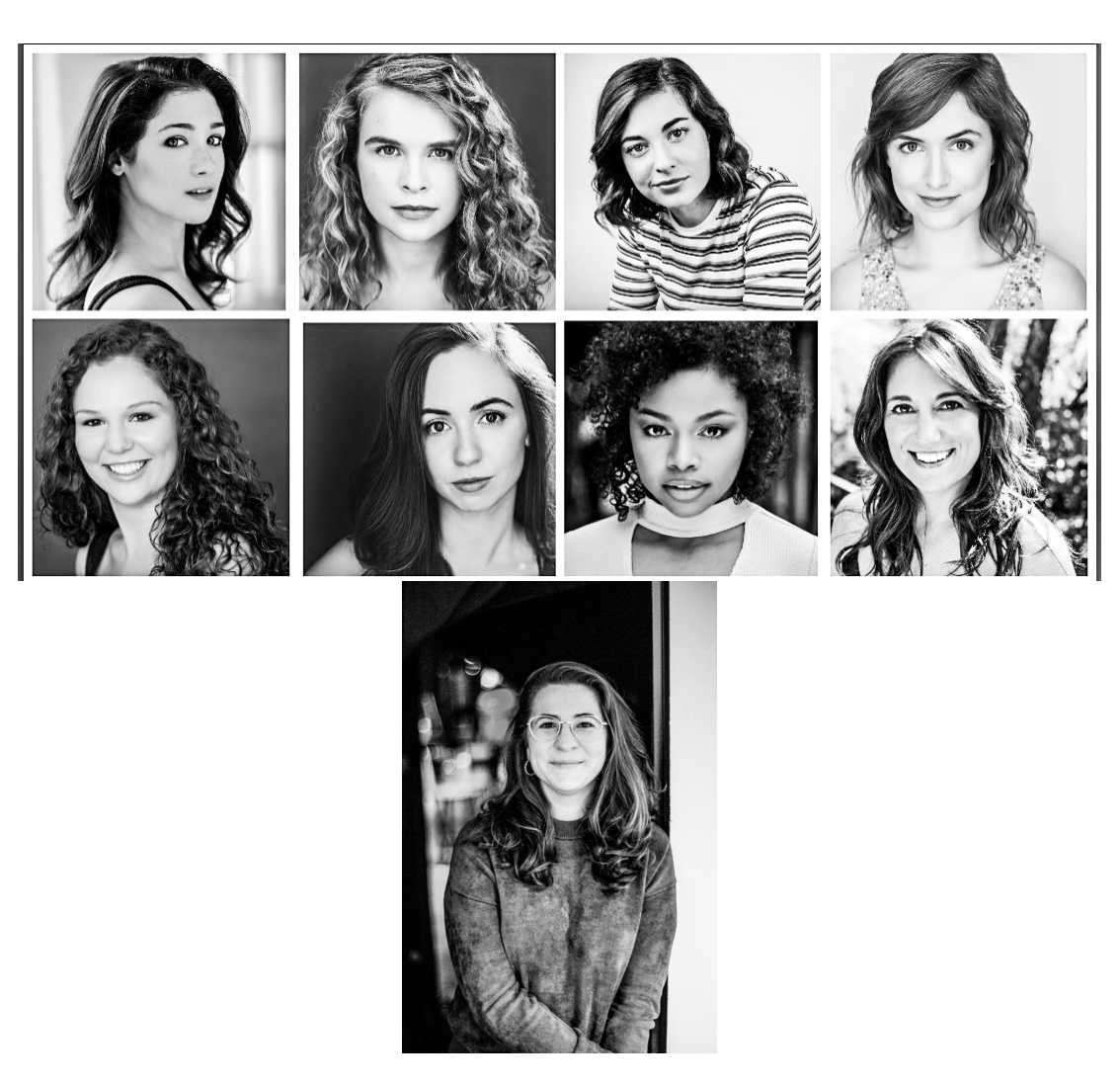 """""""The Jersey Devil Doesn't Exist"""" Cast Announcement - Makaela Shealy, Ella Mora*, Claire D'Angelo, Anna Clare Kerr, Brenna Sweet, Jac Ford, Samanthia Nixon, Jenny Bechem* These actors appear courtesy of Actors Equity AssociationWritten by Jess Honovich 