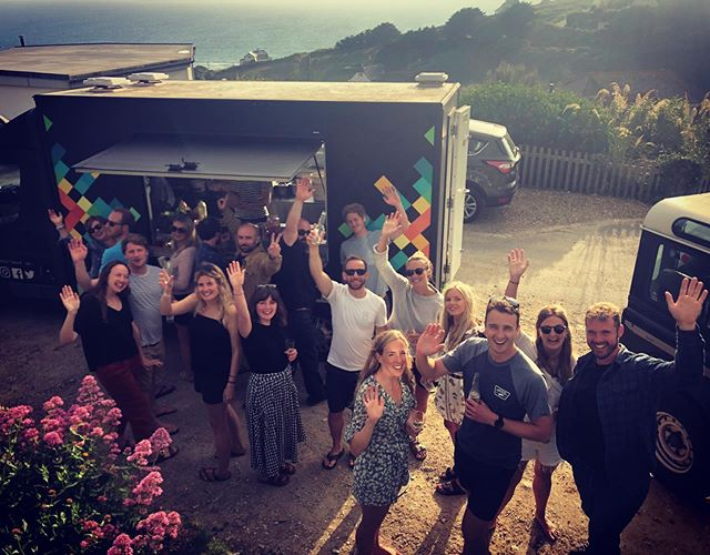 Here's one of our favourite services this summer with @samwestcountrycollins in #mawganporth. These guys know how to celebrate in style. DJ @dj_atgani, Mexican and one of the finest views in #Cornwall. Geddon! . . . . . . . . #mexican #tacos #mexicanfood #authentic #happybirthday #ministryofsound #localproduce #destinationcatering #holidayfood #supportlocal #weekendparty #tacosbythesea #meattacos #vegetarian #tequila #corn #fiesta  #familytime #foodtruck