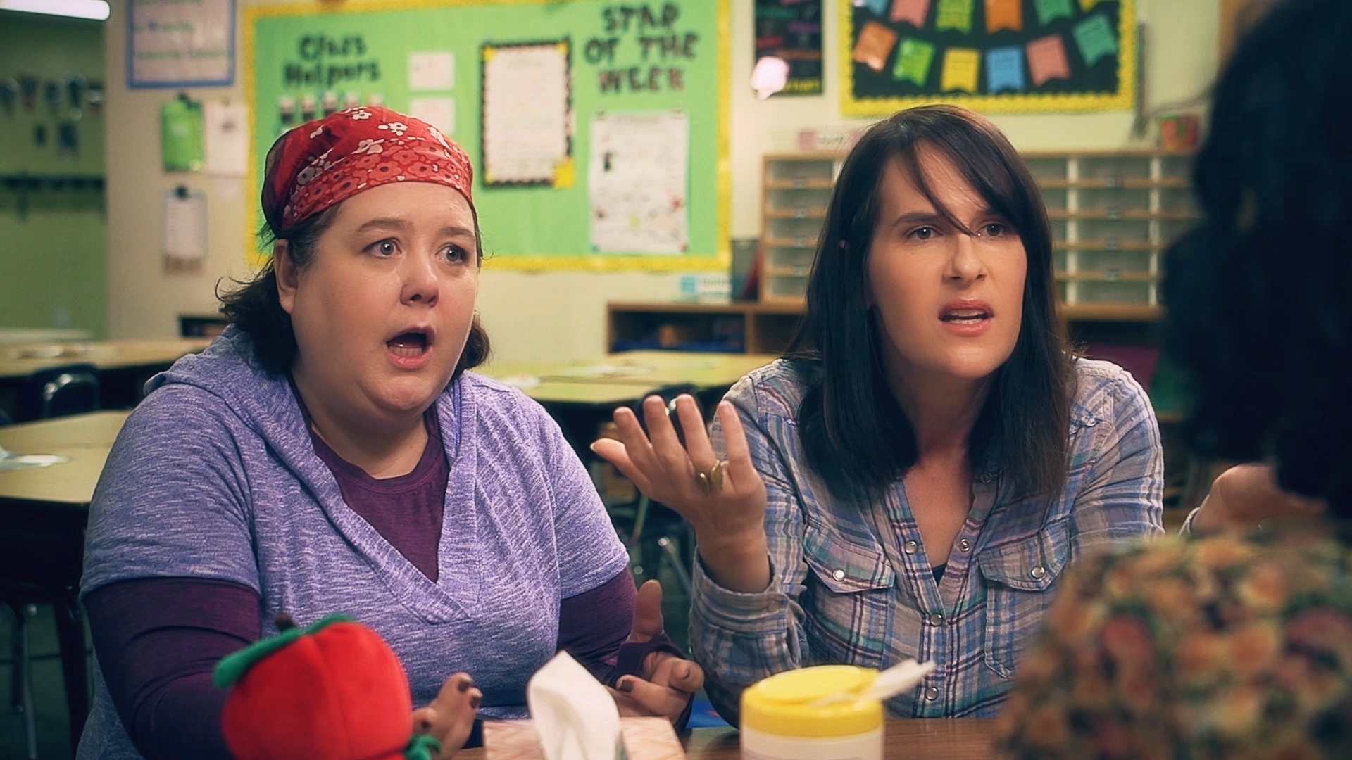 Sara Sevigny and Brooke Breit in Other People's Children, Courtesy of Lion and Mouse Productions.
