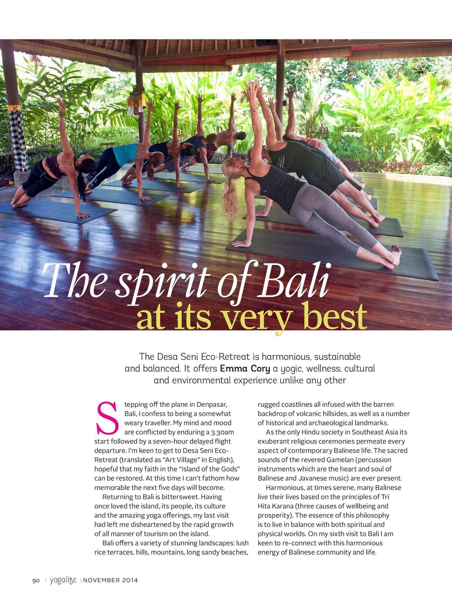Published Yoga Life Middle East