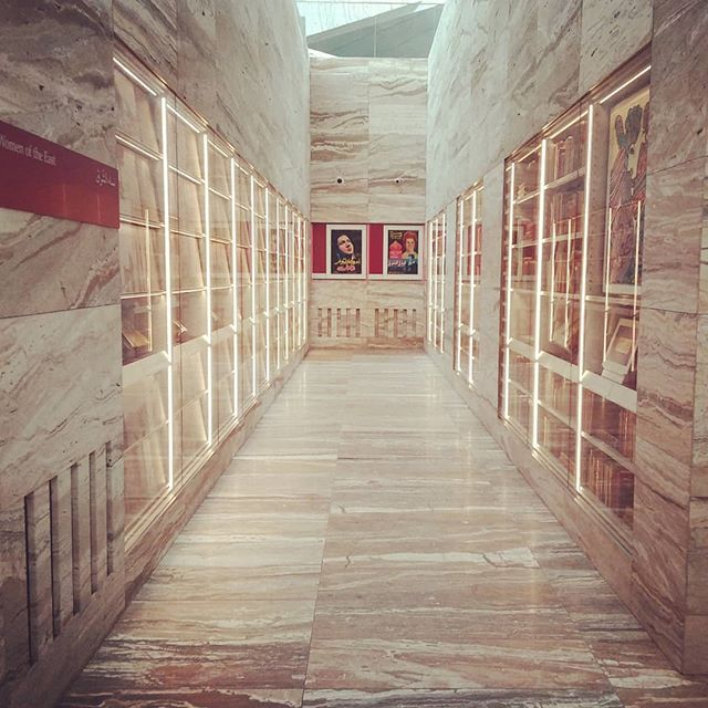 A library to get lost in. Breathtaking design. Thank you @mindfulbirth_australia TT @helen_milligan for the morning of discovery. What a wonderful world. @bookpig thought of you! swipe right * * #womenoftheeast #doha #yogadoha #yogatravel #librariesofinstagram #yogalifeme #qatarnationallibrary