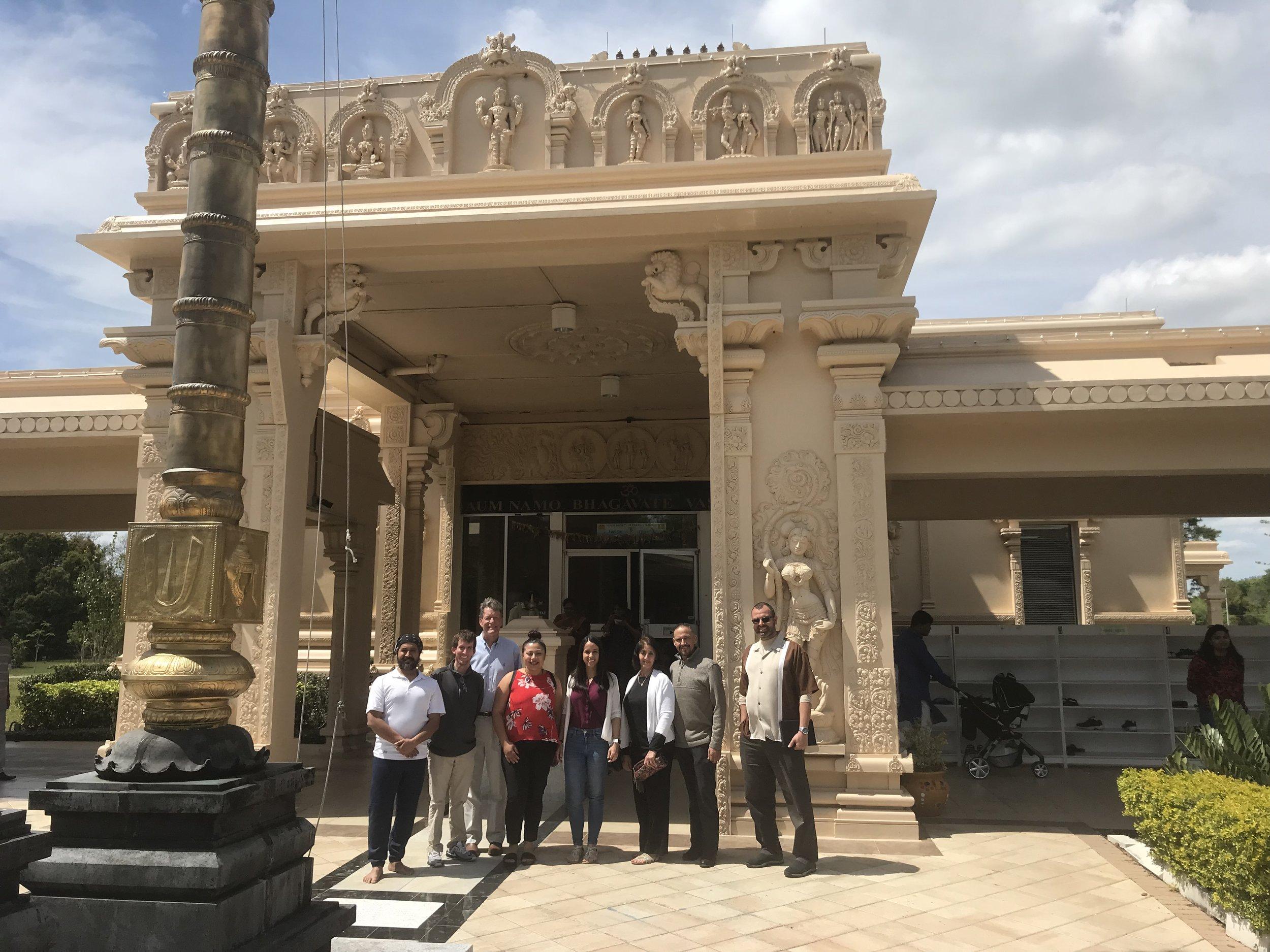 Hindu Temple Visits