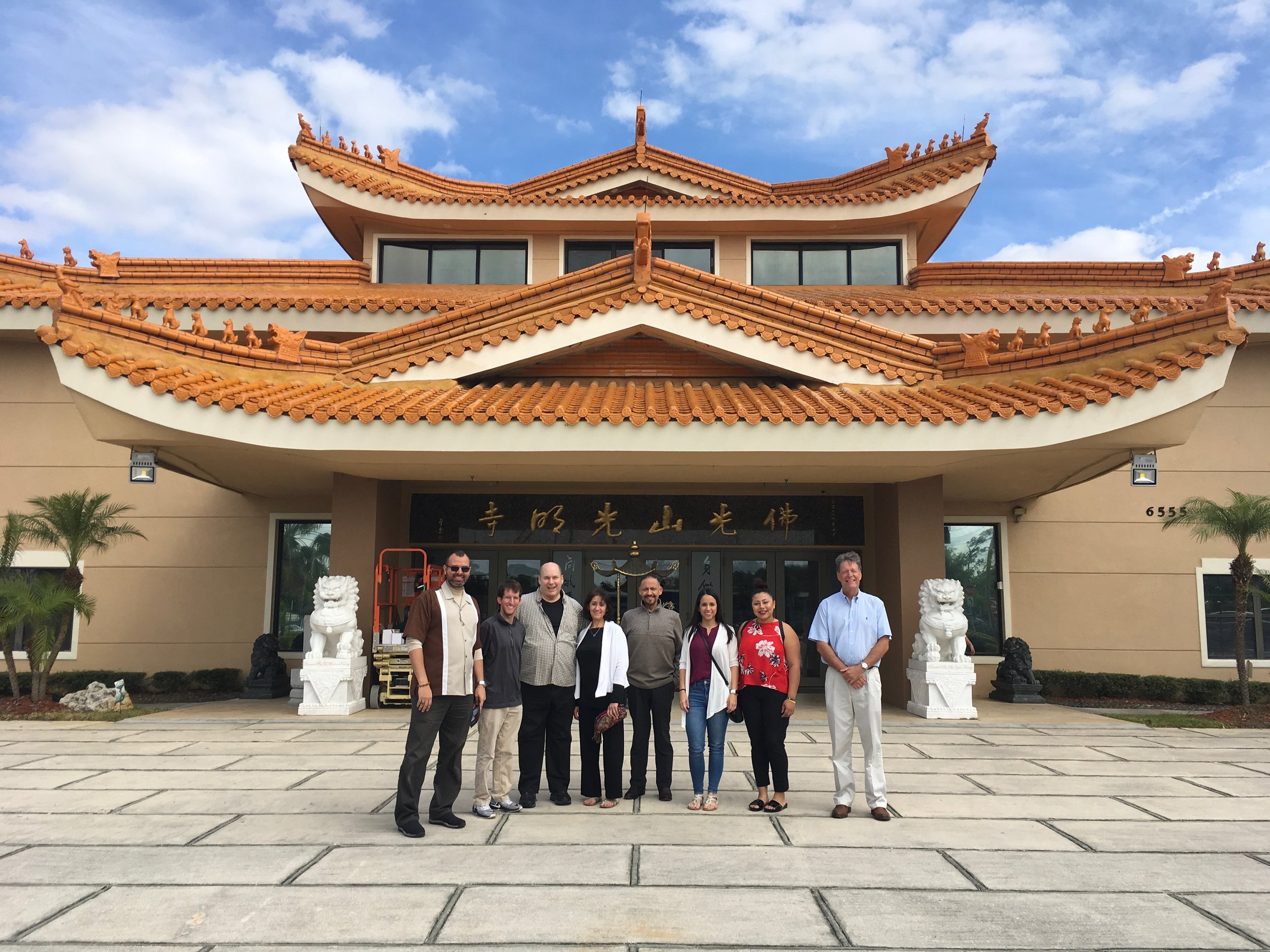 Buddhist Temple Visits