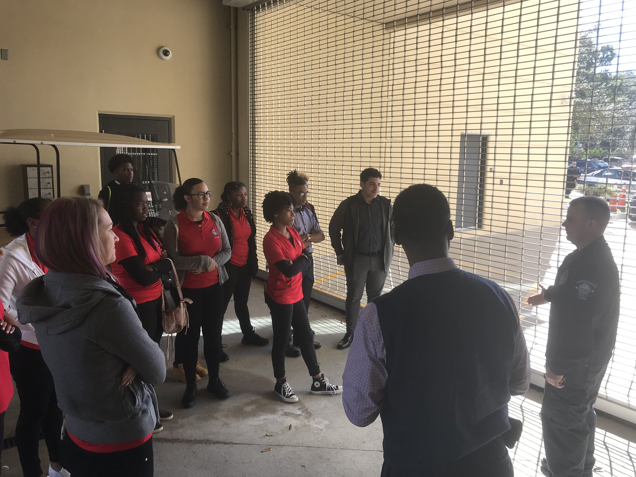Tour at the Local Sanford Police Department