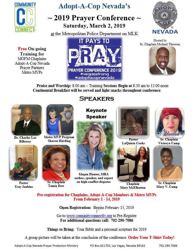 2019 Prayer Conference March 2, 2019