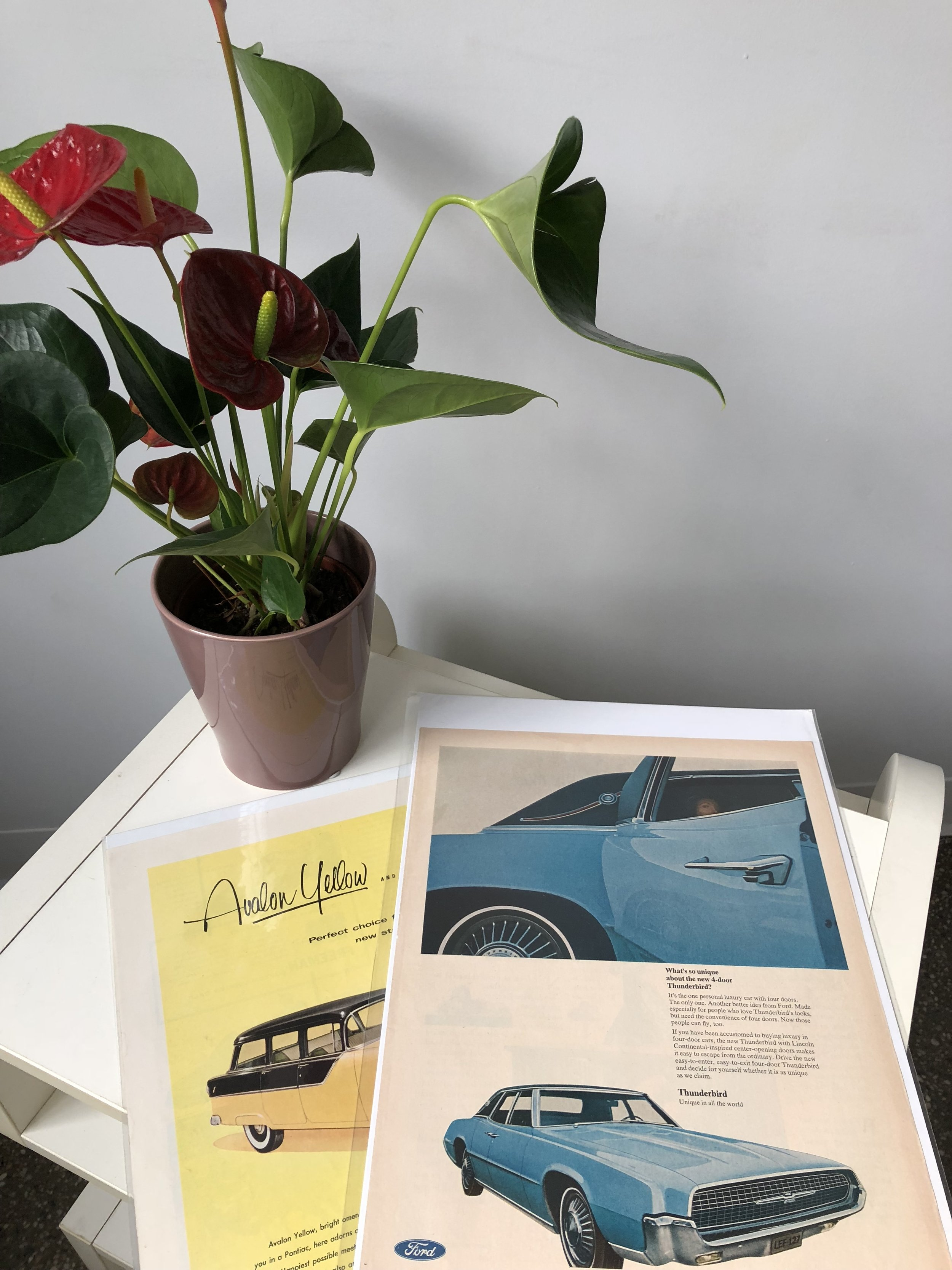 Vintage Prints - From old magazine clippings to artwork… You can give it framed or unframed. Either way, an image or artwork can tie back to a memory and experience that you can share with another.