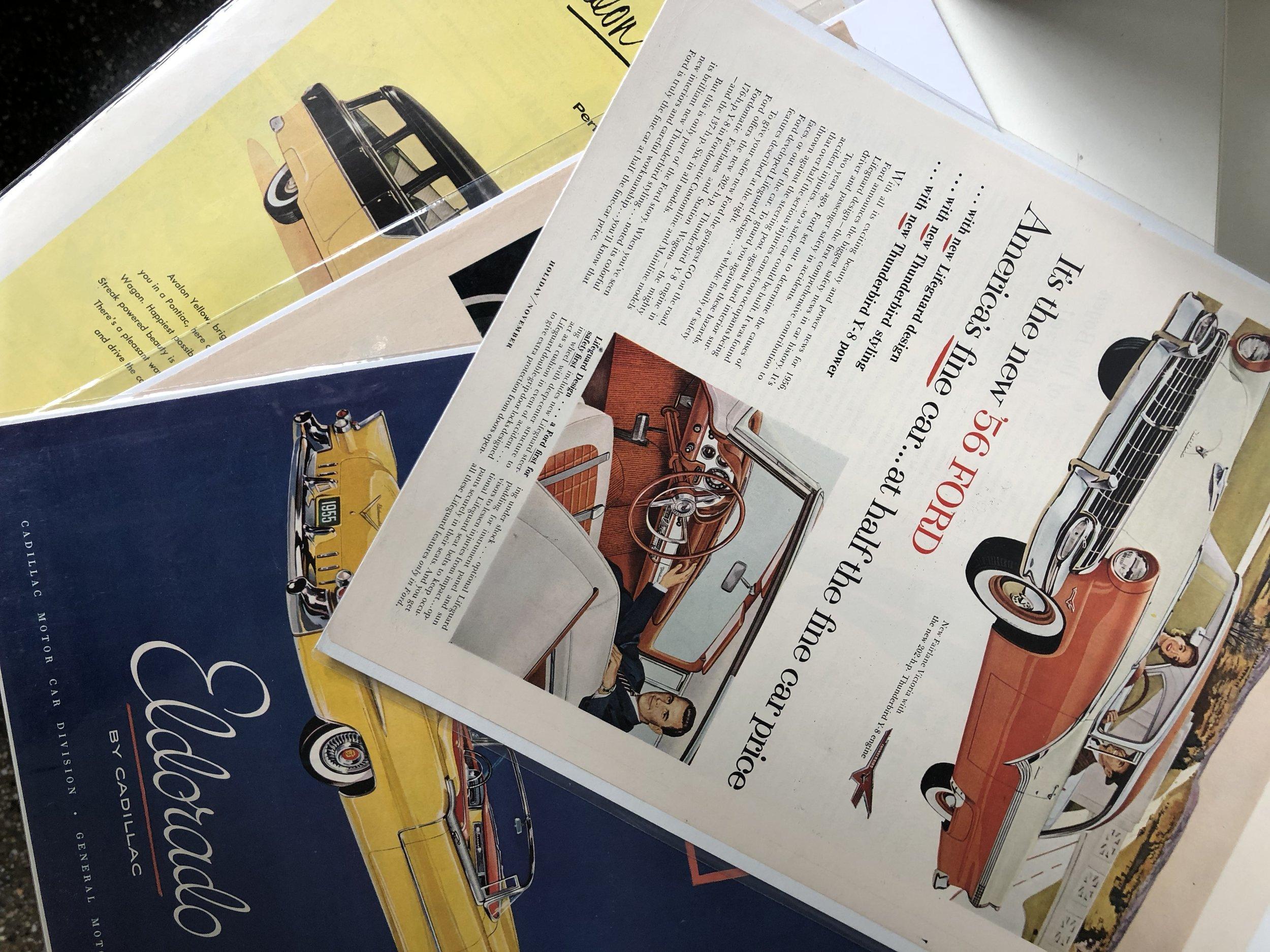 Mix Vintage Magazine Prints, $5 each