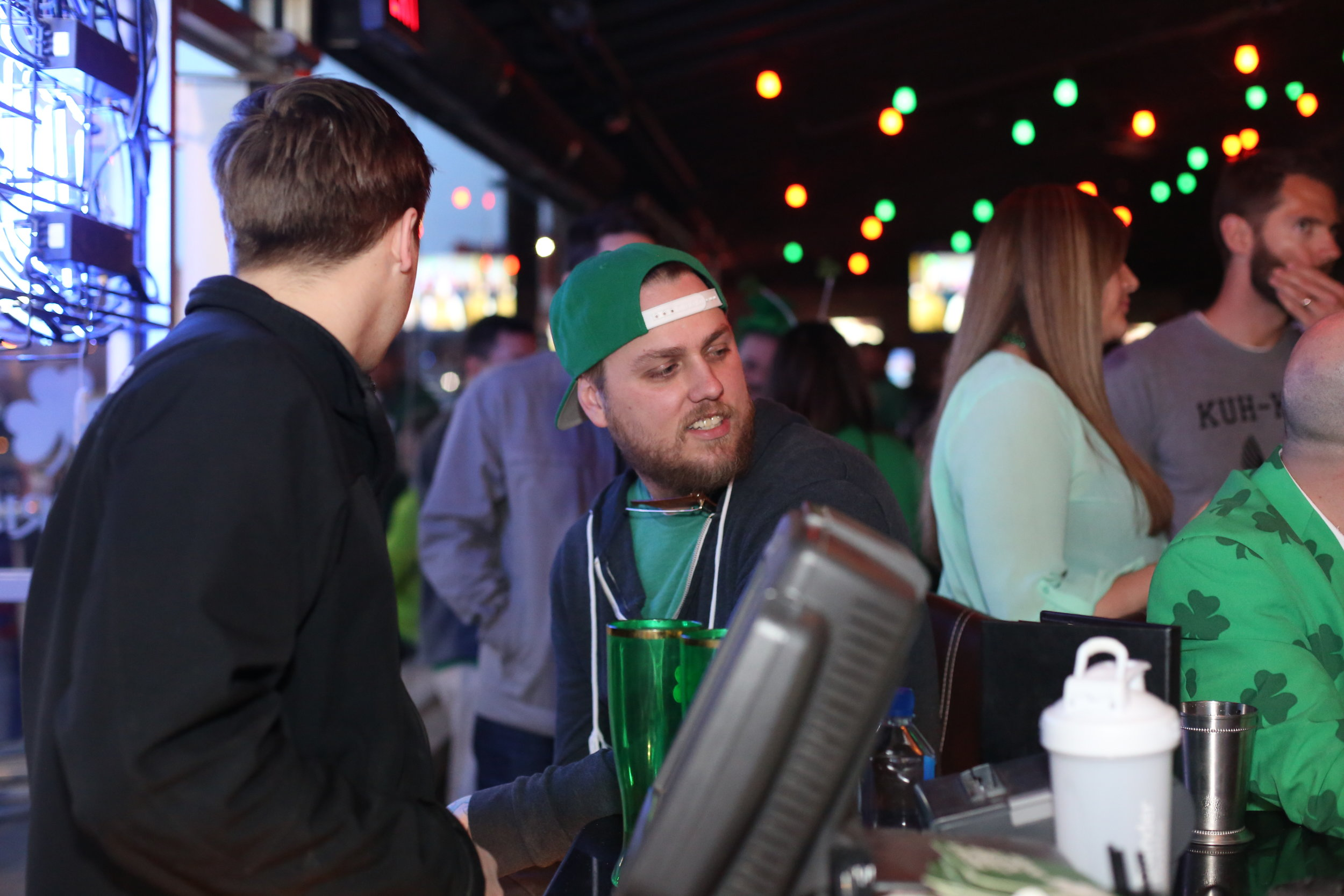 Friends Meet at The Irish