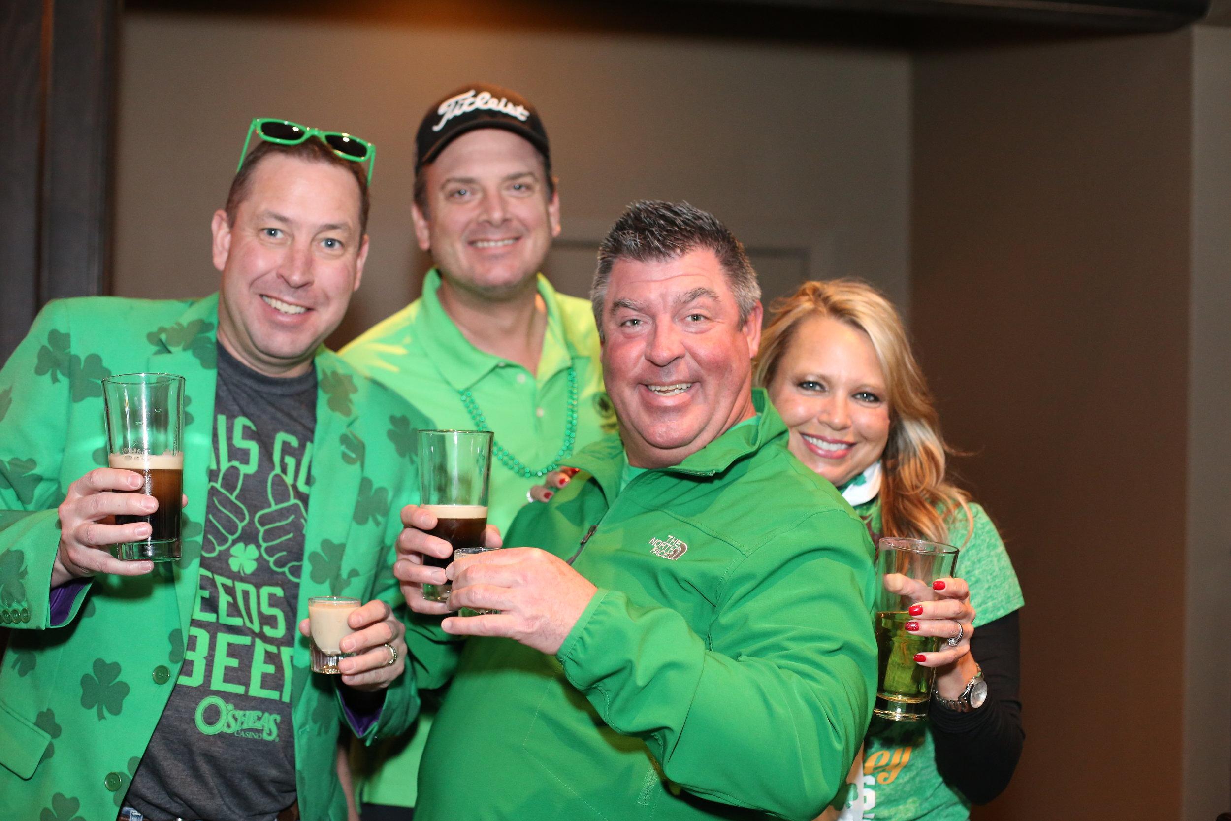 Good times at The Irish