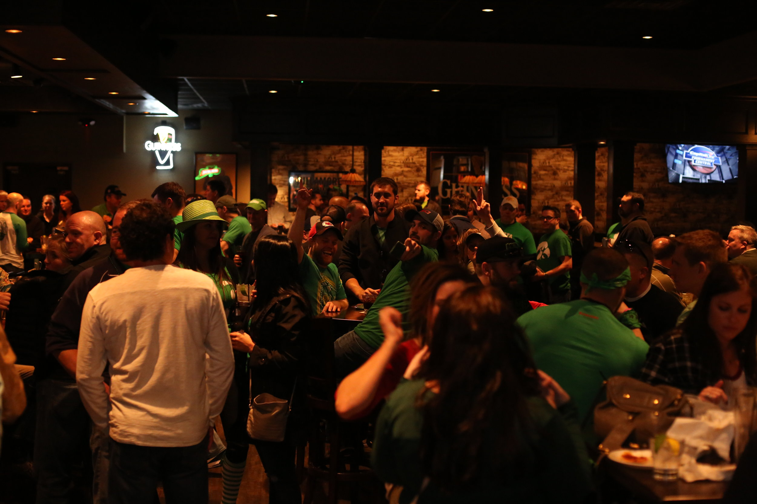 St. Patrick's Day in the West Glen Town Center