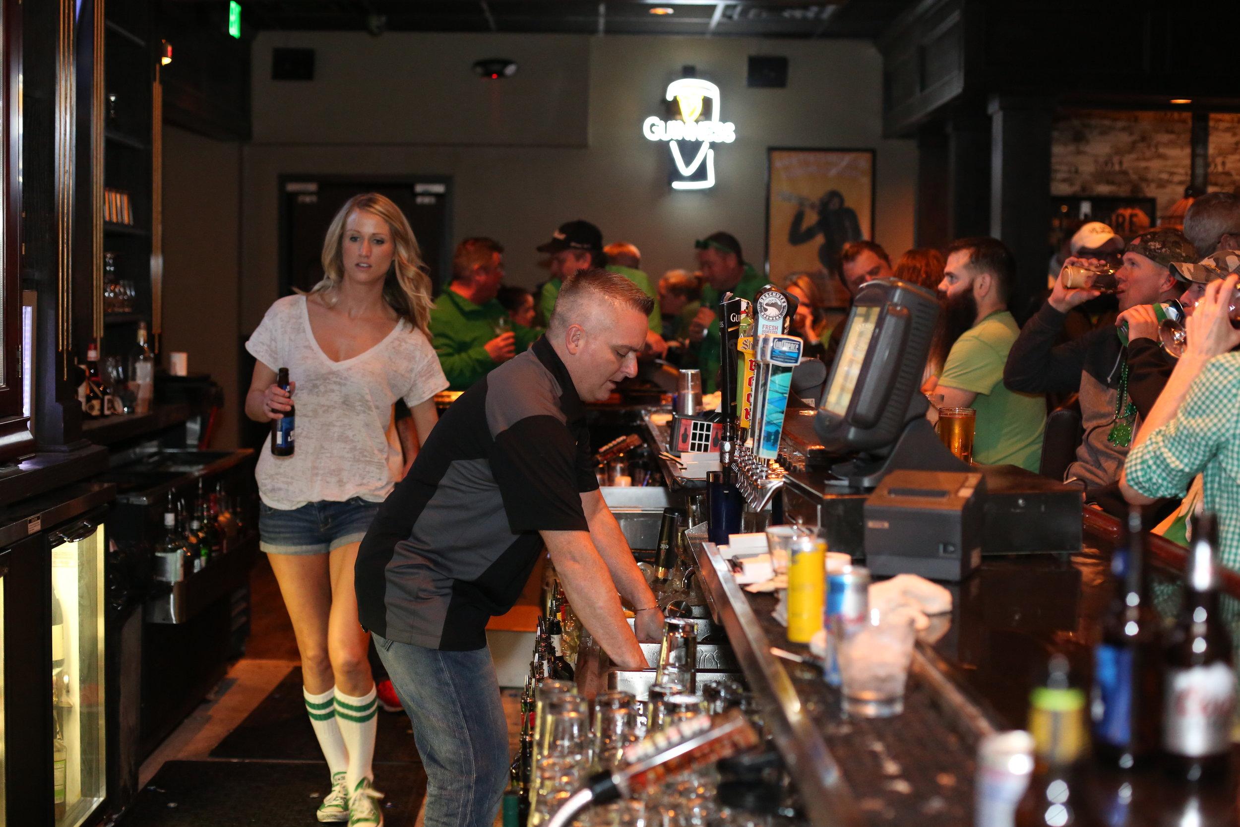 The Irish - A bar and pub in WDM